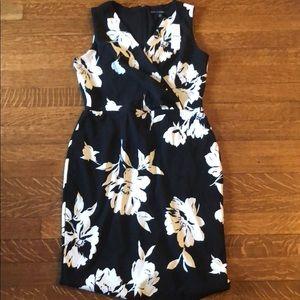 WHBM NWT Faux Wrap Floral Dress